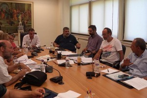 Σύσκεψη για την κατασκευή της νέας επαρχιακής οδού Ακρινής-Κοζάνης