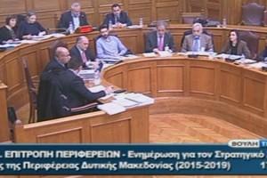 Στην Ειδική Μόνιμη Επιτροπή Περιφερειών παρουσιάστηκε ο στρατηγικός σχεδιασμός ανάπτυξης της Περιφέρειας Δυτικής Μακεδονίας