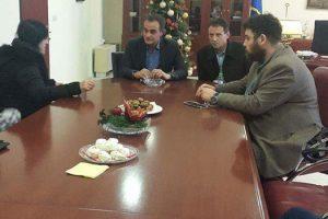 Στο πλευρό των εργαζομένων στα πρώην σούπερ-μάρκετ Αρβανιτίδη ο Περιφερειάρχης Δυτικής Μακεδονίας