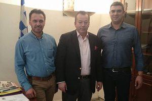 Συνάντηση του Αντιπεριφερειάρχη Αγροτικής Ανάπτυξης και του προέδρου της Αγροδιατροφικής Σύμπραξης Δυτικής Μακεδονίας με τον Υφυπουργό Β. Κόκκαλη