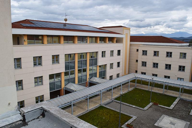 Επίσκεψη στο κτίριο του Διοικητηρίου Γρεβενών (Υποέργο 1)
