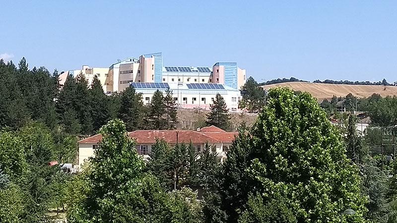 Επίσκεψη στο κτίριο του Γενικού Νοσοκομείου Γρεβενών (Υποέργο 4)