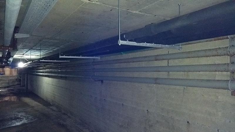 Επίσκεψη στο κτίριο του Κλειστού Κολυμβητηρίου Γρεβενών (Υποέργο 2)
