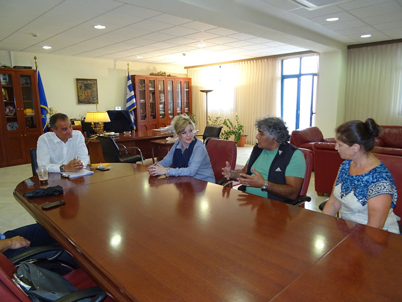Επίσκεψη εκπροσώπων της αποστολής από την Αγία Πετρούπολης Ρωσίας, στον Περιφερειάρχη Δυτικής Μακεδονίας Θ. Καρυπίδη