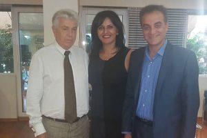 Σημαντικές επαφές πραγματοποίησε στην Αθήνα κατά τη διάρκεια εθιμοτυπικών επισκέψεων η Μαρία Καρυπίδου