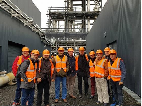 Επίσκεψη στη μονάδα CRI (Carbon Recycling International)