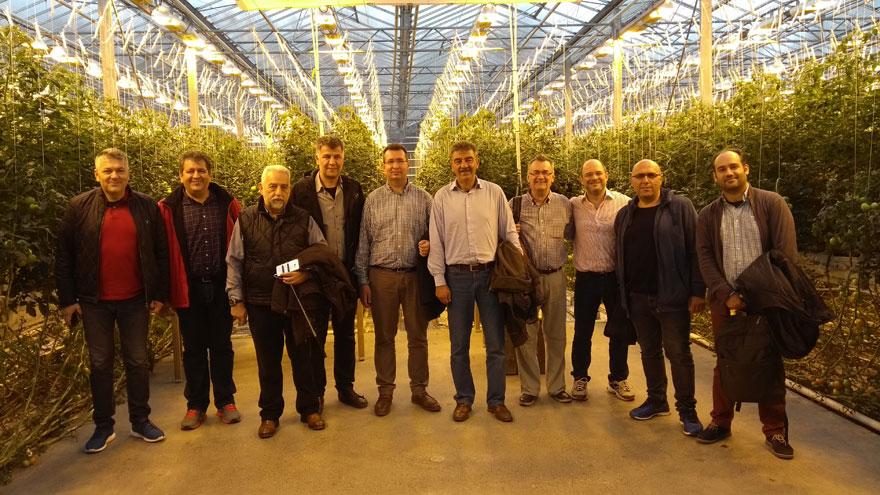 Επίσκεψη στο θερμοκήπιο Fridheimar παραγωγής ντομάτας