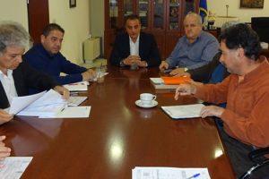 Σύσκεψη εργασίας στην Περιφέρεια με αντικείμενο την προετοιμασία για το επικείμενο άνοιγμα του μεθοριακού σταθμού Λαιμού Πρεσπών