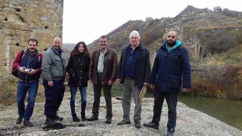 Επίσκεψη κλιμακίου του ΑΠΘ στο γεφύρι του Πασά
