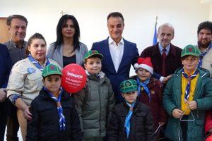 Τις καθιερωμένες ευχές για το νέο έτος αντάλλαξε ο Περιφερειάρχης Δυτικής Μακεδονίας Θεόδωρος Καρυπίδης με τους φορείς, τους συλλόγους και τους πολίτες της περιοχής της Εορδαίας