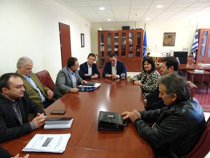 Επίσκεψη του ΕΒΕ Κοζάνης στον Περιφερειάρχη 1
