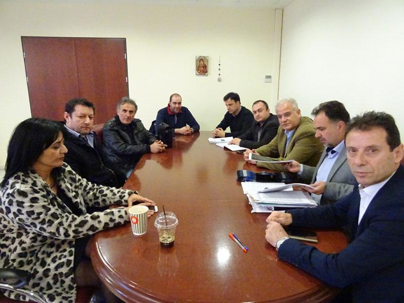 Επίσκεψη του ΕΒΕ Κοζάνης στον Περιφερειάρχη 2