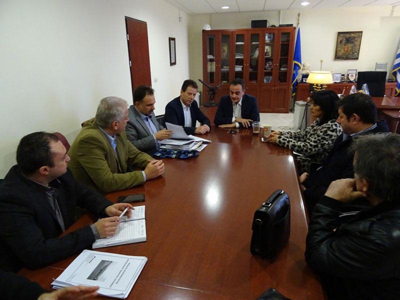 Επίσκεψη του ΕΒΕ Κοζάνης στον Περιφερειάρχη 3