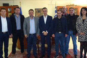 Επίσκεψη του ΕΒΕ Κοζάνης στον Περιφερειάρχη