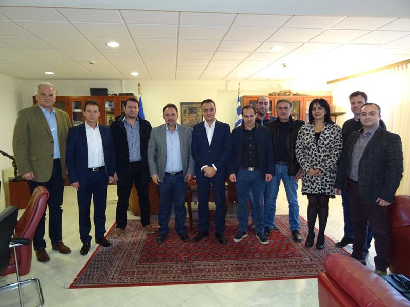 Επίσκεψη του ΕΒΕ Κοζάνης στον Περιφερειάρχη 4