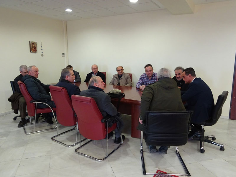 Το συντονιστικό των συνταξιούχων επισκέφθηκε τον Περιφερειάρχη – Στο επίκεντρο της συνάντησης το Κέντρο Ημερήσιας Φροντίδας ατόμων με τη νόσο Αλτσχάϊμερ 3