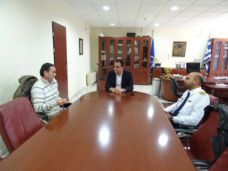 Περιφερειάρχης Θ. Καρυπίδης: «Παρακολουθώντας τις εξελίξεις, αξιοποιούμε τα αεροδρόμια της Δυτικής Μακεδονίας». Σχολή Πιλότων στο Αεροδρόμιο της Καστοριάς 1