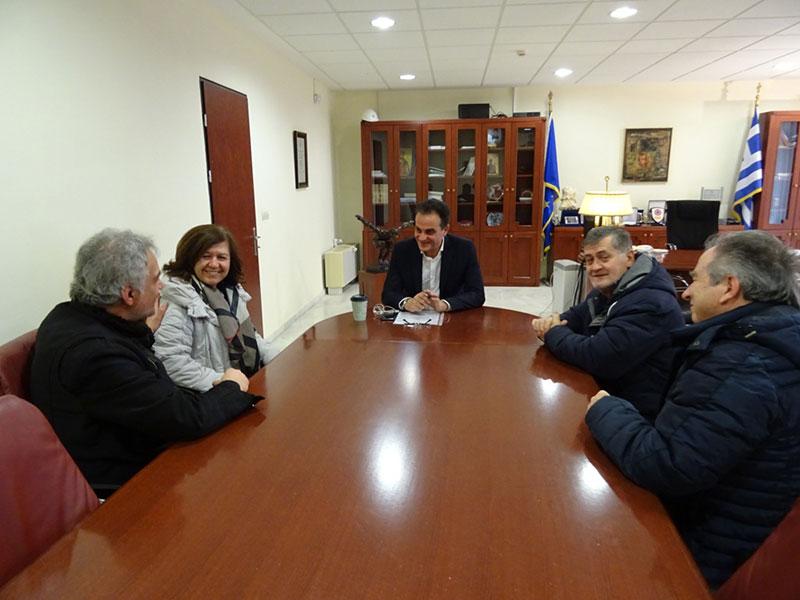 Ο Σύλλογος Καρκινοπαθών Εορδαίας επισκέφθηκε τον Περιφερειάρχη Δυτικής Μακεδονίας 1