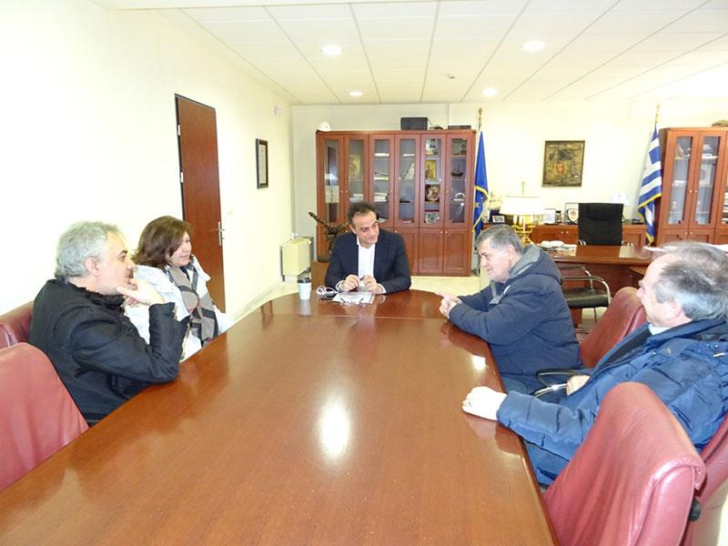 Ο Σύλλογος Καρκινοπαθών Εορδαίας επισκέφθηκε τον Περιφερειάρχη Δυτικής Μακεδονίας 2