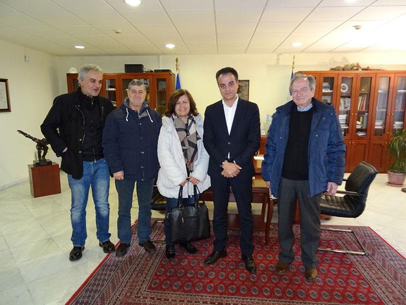 Ο Σύλλογος Καρκινοπαθών Εορδαίας επισκέφθηκε τον Περιφερειάρχη Δυτικής Μακεδονίας 3