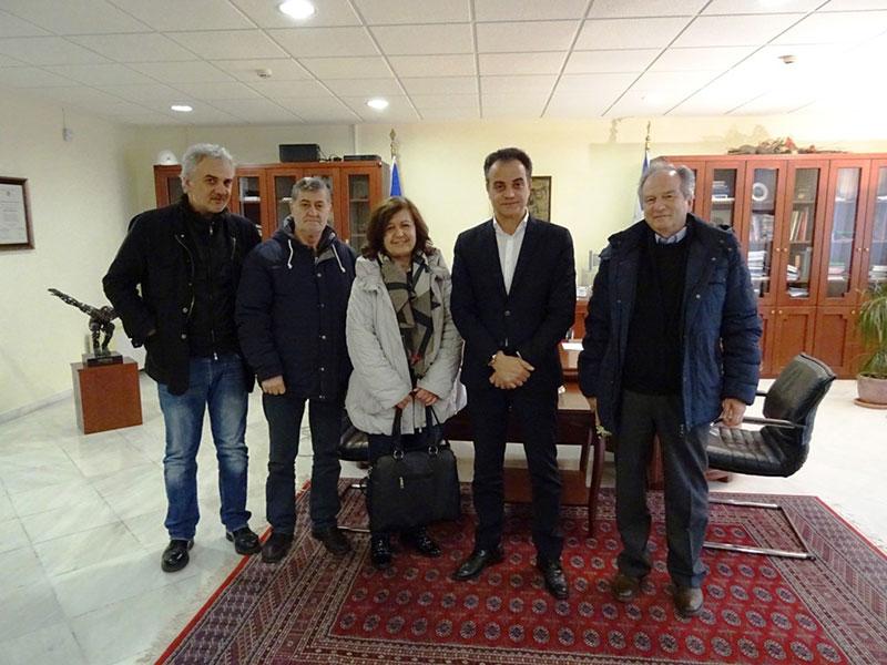 Ο Σύλλογος Καρκινοπαθών Εορδαίας επισκέφθηκε τον Περιφερειάρχη Δυτικής Μακεδονίας 4