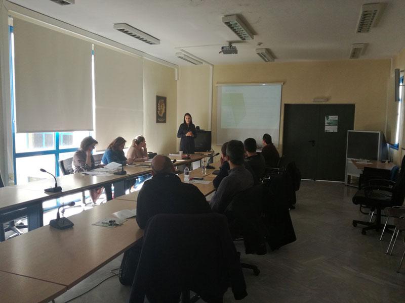 5η συνάντηση του δικτύου εμπλεκομένων μερών στην Κοζάνη 1