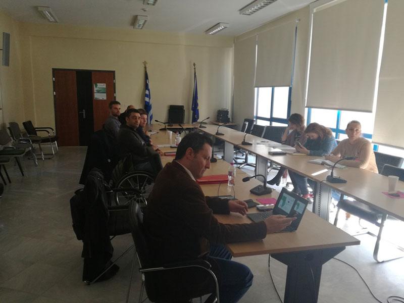 5η συνάντηση του δικτύου εμπλεκομένων μερών στην Κοζάνη 2
