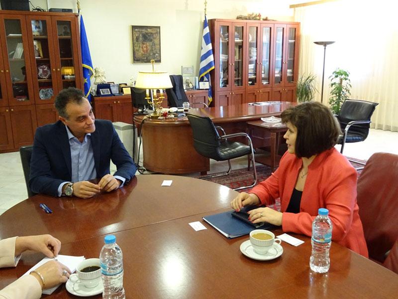 Τον Περιφερειάρχη Δυτικής Μακεδονίας επισκέφθηκε η Πρέσβειρα της Σλοβακίας 1