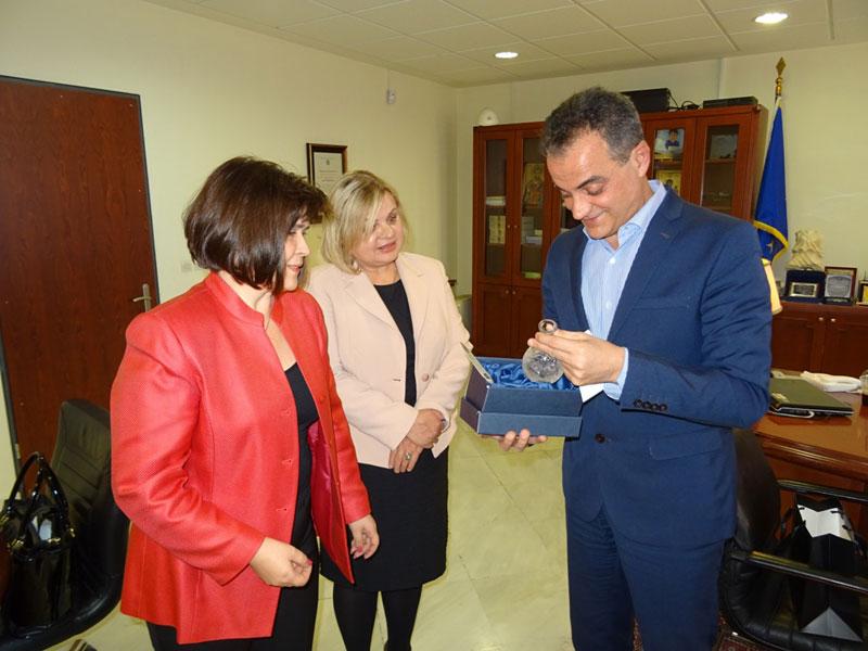 Τον Περιφερειάρχη Δυτικής Μακεδονίας επισκέφθηκε η Πρέσβειρα της Σλοβακίας 2