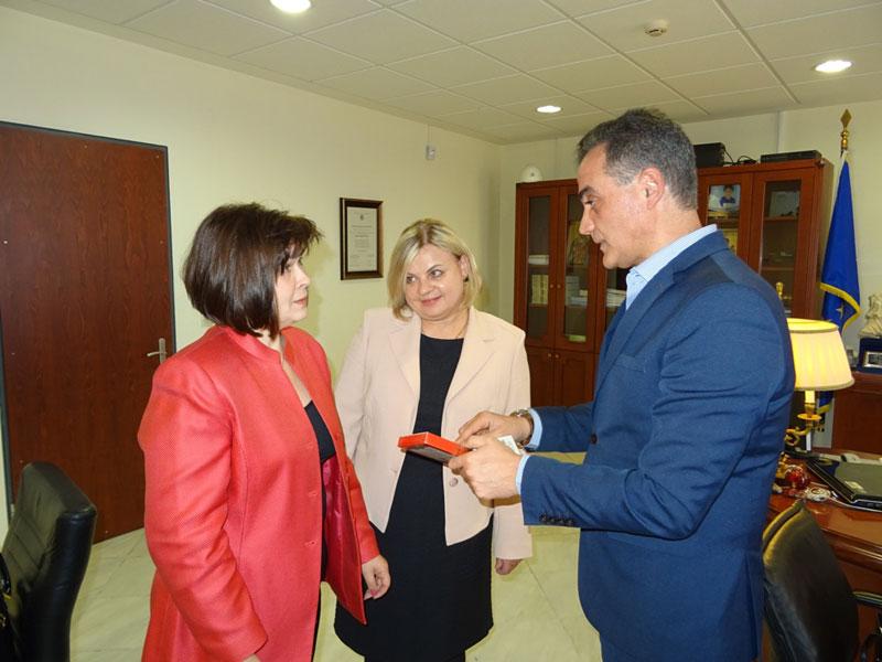 Τον Περιφερειάρχη Δυτικής Μακεδονίας επισκέφθηκε η Πρέσβειρα της Σλοβακίας 3
