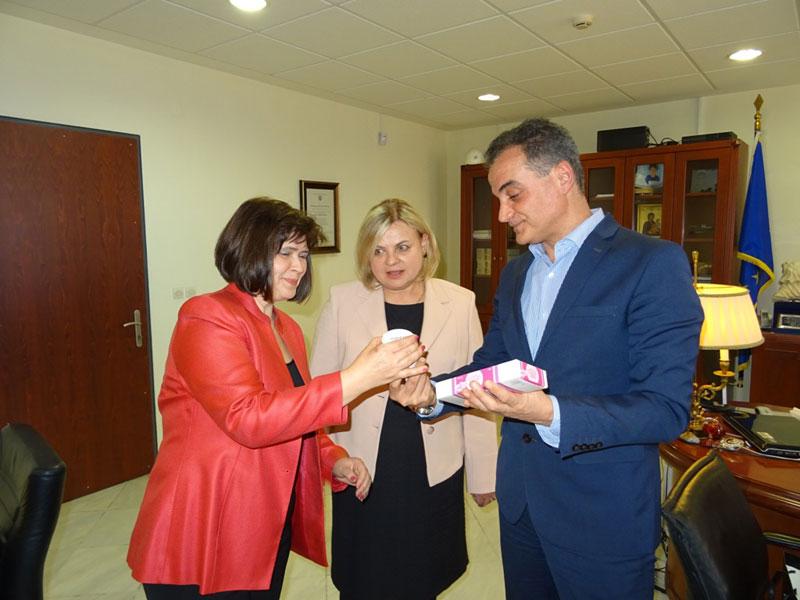 Τον Περιφερειάρχη Δυτικής Μακεδονίας επισκέφθηκε η Πρέσβειρα της Σλοβακίας 4