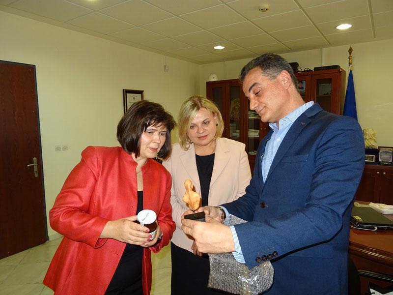 Τον Περιφερειάρχη Δυτικής Μακεδονίας επισκέφθηκε η Πρέσβειρα της Σλοβακίας 5