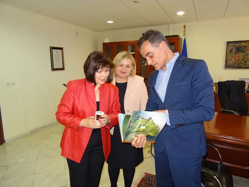 Τον Περιφερειάρχη Δυτικής Μακεδονίας επισκέφθηκε η Πρέσβειρα της Σλοβακίας 6