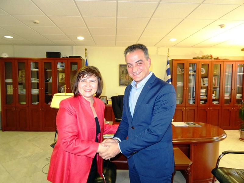 Τον Περιφερειάρχη Δυτικής Μακεδονίας επισκέφθηκε η Πρέσβειρα της Σλοβακίας 7