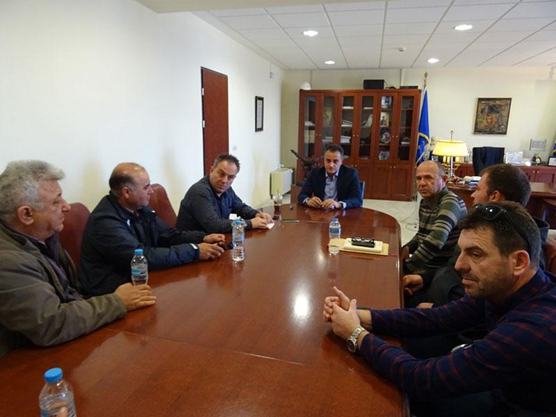 Τον Περιφερειάρχη Δυτικής Μακεδονίας Θ. Καρυπίδη επισκέφθηκαν οι Πρόεδροι των Κοινοτήτων της Ελίμειας 1
