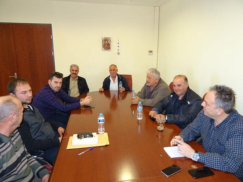 Τον Περιφερειάρχη Δυτικής Μακεδονίας Θ. Καρυπίδη επισκέφθηκαν οι Πρόεδροι των Κοινοτήτων της Ελίμειας 2