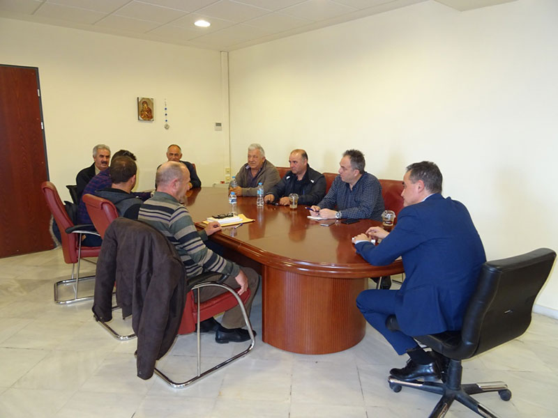 Τον Περιφερειάρχη Δυτικής Μακεδονίας Θ. Καρυπίδη επισκέφθηκαν οι Πρόεδροι των Κοινοτήτων της Ελίμειας 3