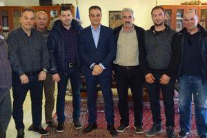 Τον Περιφερειάρχη Δυτικής Μακεδονίας Θ. Καρυπίδη επισκέφθηκαν οι Πρόεδροι των Κοινοτήτων της Ελίμειας