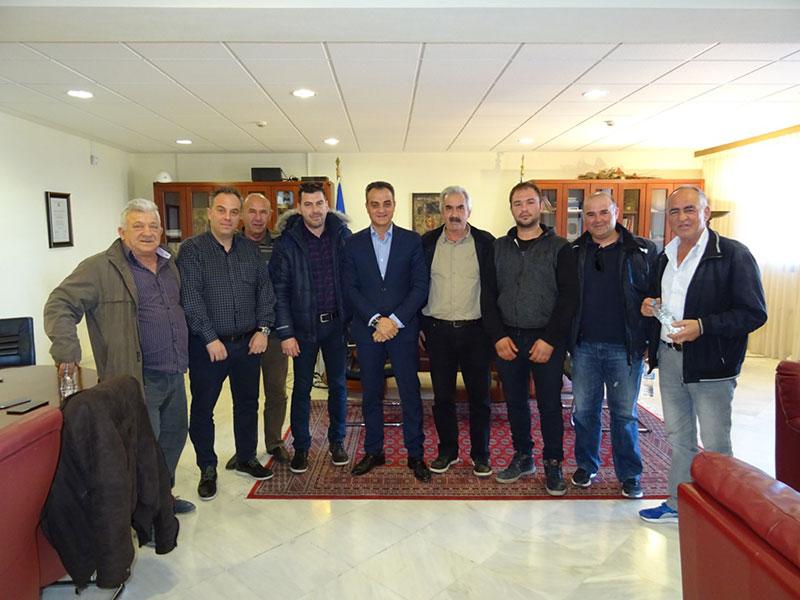 Τον Περιφερειάρχη Δυτικής Μακεδονίας Θ. Καρυπίδη επισκέφθηκαν οι Πρόεδροι των Κοινοτήτων της Ελίμειας 4
