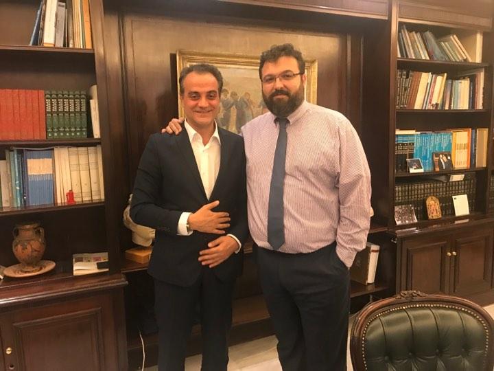 Εξαιρετική συνεργασία Θ. Καρυπίδη με Υφυπουργό Γιώργο Βασιλειάδη για τα θέματα αθλητισμού της περιφέρειας
