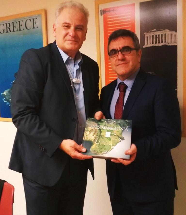 Με την Υπουργό Τουρισμού Έλενα Κουντουρά και τον Γ.Γ. του ΕΟΤ Κώστα Τσέγα συναντήθηκε ο Αντιπεριφερειάρχης Παναγιώτης Κώττας 2