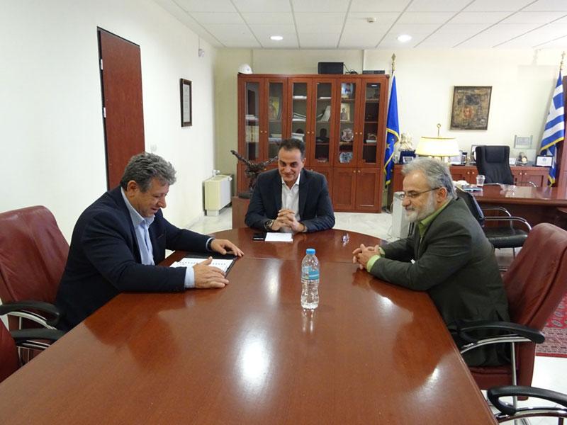 Η νέα Διοίκηση του Εργατικού Κέντρου Κοζάνης επισκέφθηκε τον Περιφερειάρχη Δυτικής Μακεδονίας 1