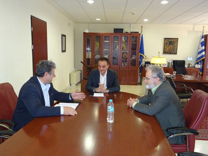 Η νέα Διοίκηση του Εργατικού Κέντρου Κοζάνης επισκέφθηκε τον Περιφερειάρχη Δυτικής Μακεδονίας 2