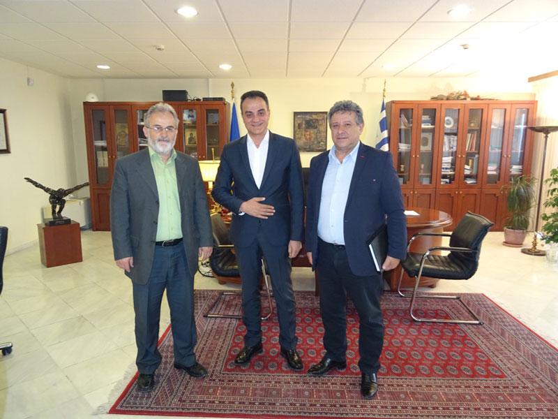 Η νέα Διοίκηση του Εργατικού Κέντρου Κοζάνης επισκέφθηκε τον Περιφερειάρχη Δυτικής Μακεδονίας 3