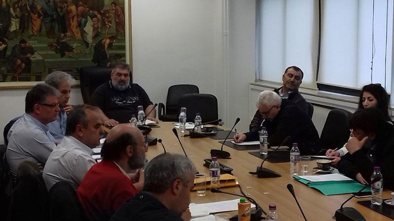 Συνεδρίαση της Ομάδας Συντονισμού για την επιτάχυνση της μετεγκατάστασης Ποντοκώμης 1