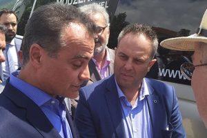 Το ψήφισμα του Περιφερειακού Συμβουλίου Δυτικής Μακεδονίας, για τη Συμφωνία μεταξύ Ελλάδας και πΓΔΜ, επέδωσε στον Υπουργό Εξωτερικών κ. Νίκο Κοτζιά, ο Περιφερειάρχης Δυτικής Μακεδονίας Θεόδωρος Καρυπίδης στις Πρέσπες