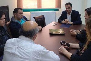 Συνάντηση του Περιφερειάρχη με το Σύλλογο Παιδιών με Αναπηρία Εορδαίας