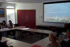 Ad-Hoc επίσκεψη ανταλλαγής εμπειριών του έργου ECOWASTE4FOOD στη Μασσαλία, Γαλλία