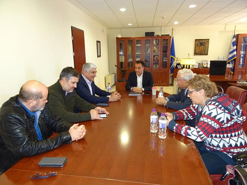 Ο Παναγιώτης Γιαννάκης στην Περιφέρεια Δυτικής Μακεδονίας - Συνάντηση με τον Θ. Καρυπίδη 1