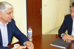 Ο Παναγιώτης Γιαννάκης στην Περιφέρεια Δυτικής Μακεδονίας - Συνάντηση με τον Θ. Καρυπίδη